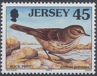 Jersey 1999 Seabirds and waders (4th Issue) g