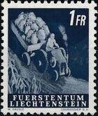 Liechtenstein 1951 Farm Labor l