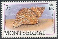 Montserrat 1988 Sea Shells a