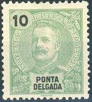 Ponta Delgada 1897 D. Carlos I c