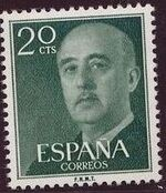 Spain 1955 General Franco c