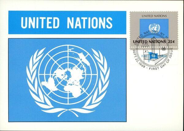 United Nations-New York 1989 Flag Series MCp