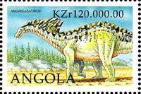 Angola 1998 Prehistoric Animals (3rd Group) f
