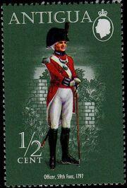 Antigua 1974 Military Uniforms a