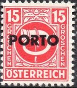 Austria 1946 Occupation Stamps of the Allied Military Government Overprinted in Black g
