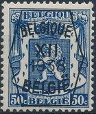 Belgium 1938 Coat of Arms - Precancel (12th Group) f