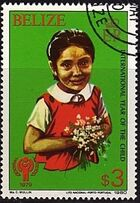 Belize 1980 International Year of the Child g