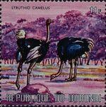 Burundi 1971 Animals p