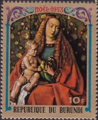 Burundi 1973 Christmas b