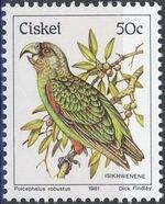 Ciskei 1981 Definitive - Birds o