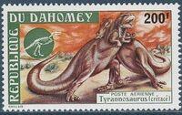 Dahomey 1974 Prehistoric Animals c