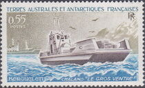 French Southern and Antarctic Territories 1983 Landing Ship Le Gros Ventre, Kerguelen a