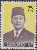 Indonesia 1974 President Suharto - Definitives d