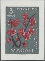 Macao 1953 Indigenous Flowers ia