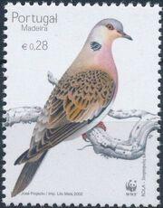 Madeira 2002 WWF Birds from Madeira a