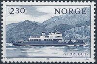 Norway 1981 Lake Transportation d