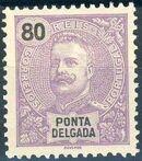 Ponta Delgada 1897 D. Carlos I i