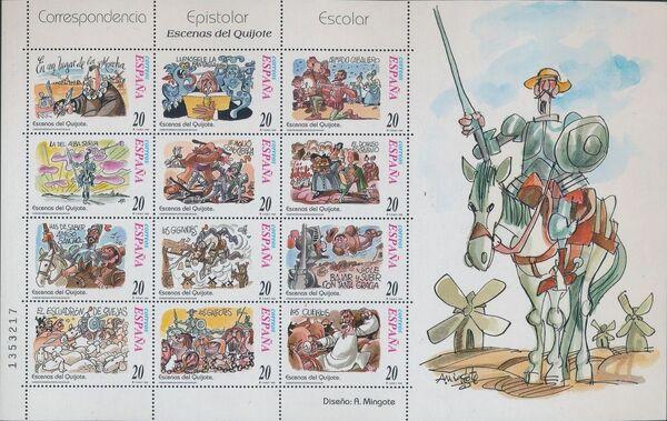 """Spain 1998 Scenes from """"Don Quixote"""" Sa"""