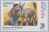 "Spain 1998 Scenes from ""Don Quixote"" u"