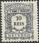 St Thomas and Prince 1904 Postage Due Stamps (S.THOMÉ) b