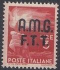 Trieste-Zone A 1947 Democracy (Italy Postage Stamps of 1945 Overprinted) e