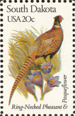 United States of America 1982 State birds and flowers zm