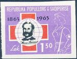Albania 1963 100th Anniversary of Red Cross e