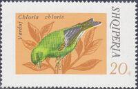 Albania 1974 Song Birds d