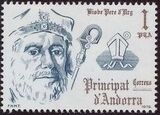 Andorra-Spanish 1979 Bishops of Urgel a