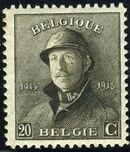 Belgium 1919 King Albert in Trench Helmet f