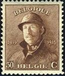 Belgium 1919 King Albert in Trench Helmet j