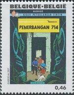 Belgium 2007 Tintin book covers translated w
