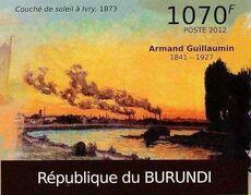 Burundi 2012 Paintings by Armand Guillaumin f