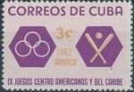 Cuba 1962 9th Central American and Caribbean Games c