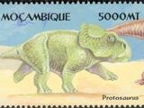 Mozambique 2002 Dinosaurs
