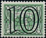 Netherlands 1940 Numerals - Stamps of 1926-1927 Surcharged d