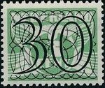 Netherlands 1940 Numerals - Stamps of 1926-1927 Surcharged j