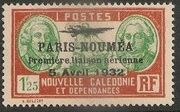 New Caledonia 1933 Definitives of 1928 Overprinted s