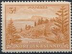 Norfolk Island 1947 Ball Bay - Definitives f