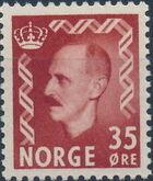 Norway 1956 King Haakon VII b