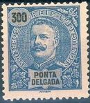 Ponta Delgada 1897 D. Carlos I m
