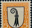 Switzerland 1923 PRO JUVENTUTE - Coat of Arms