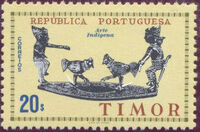 Timor 1961 Native Art k