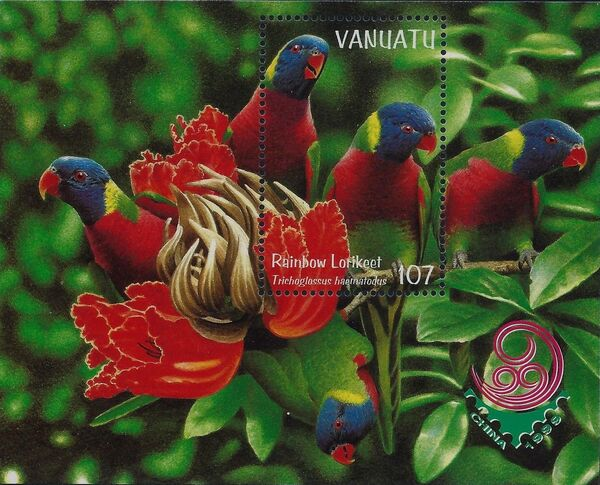 Vanuatu 1999 Bush and Lowland Birds g