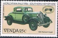 Venda 1986 FIVA World Classic Car Rally c