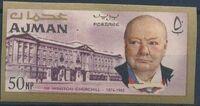 Ajman 1966 Winston Churchill j