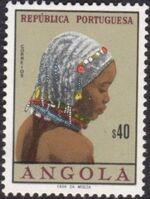 Angola 1961 Native Women from Angola d