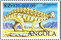 Angola 1998 Prehistoric Animals (3rd Group) i