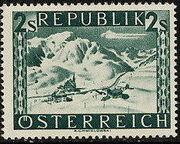 Austria 1946 Landscapes (II) q