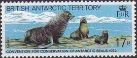 British Antarctic Territory 1982 10th Anniversary of Convention for Conservation of Antarctic Seals d